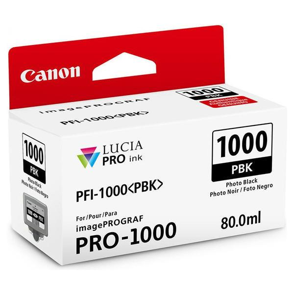 Чернильница Canon PFI-1000PBK (Photo Black)