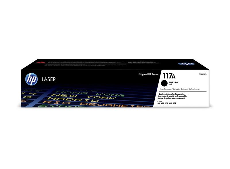 Картридж HP 117A CL 150a/150nw/178nw/179fnw Black (1000 стр)