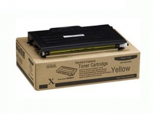 Тонер картридж Xerox PH6100 Yellow