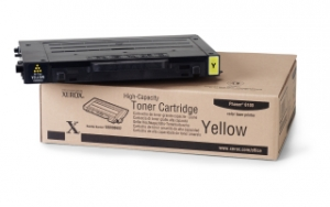 Тонер картридж Xerox PH6100 Yellow (Max)