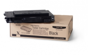 Тонер картридж Xerox PH6100 Black (Max)