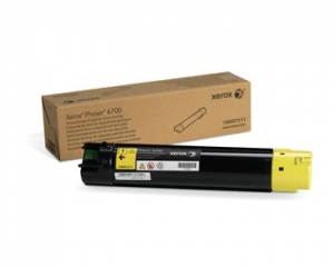 Тонер картридж Xerox PH6700 Yellow