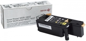 Картридж Xerox Phaser 6020 / 6022 / WC 6025 / 6027 Yellow