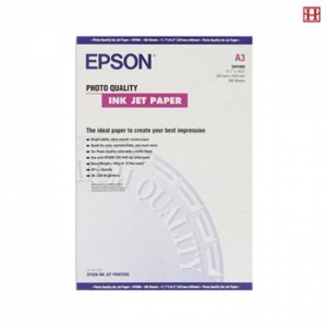Бумага Epson A3 Photo Quality Ink Jet Paper, 100л.