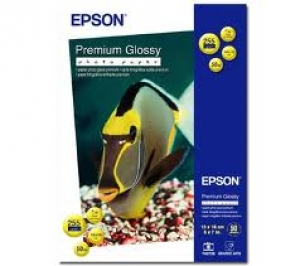 Бумага Epson 130mmx180mm Premium Glossy Photo Paper, 50л.